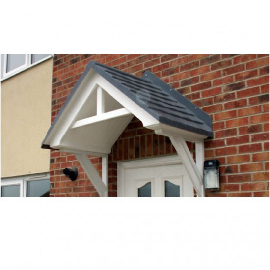 Redcar Duo Pitch Inverted T Feature GRP Door Canopy