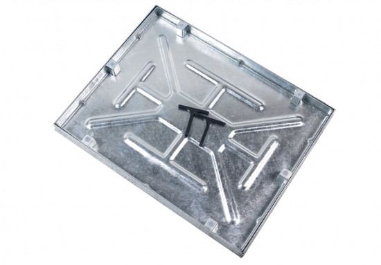 600 x 450 x 46mm 5T Sealed and Locking Manhole Cover Comes With Lifting Keys AQK6045