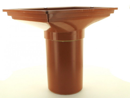 110mm Back Inlet Hopper 230mm Spigot