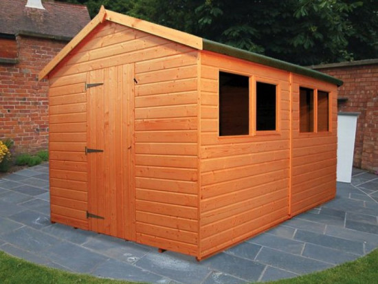 Warwick Plus Adaptable Shed and Workshop
