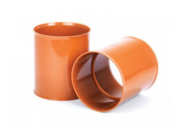 225mm Double Socket Polysewer Pipe Coupler PS1001