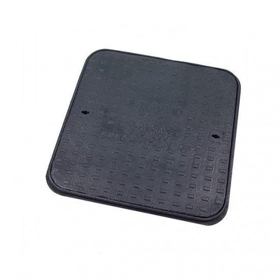 600 x 600 Solid Top Cast Iron Cover and Frame A15KN
