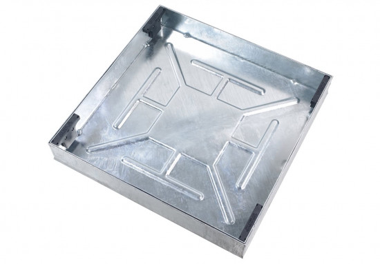 600 x 600 x 100mm Recessed Manhole Cover and Frame CD791R/100