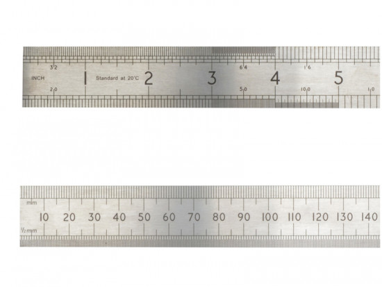 ASR 1000 Precision Steel Rule 1000mm (1m)