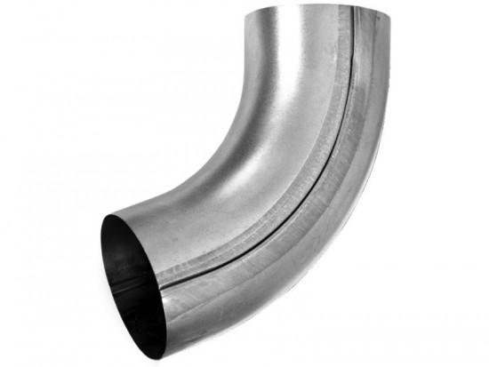 Steel Circular Pipe Offset Bend 70 deg 80mm Diameter