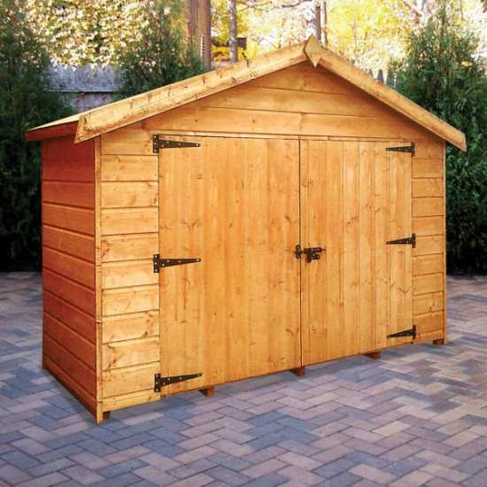Bikestore Treated Compact Storage Unit / Shelter 2.1 x 0.9m