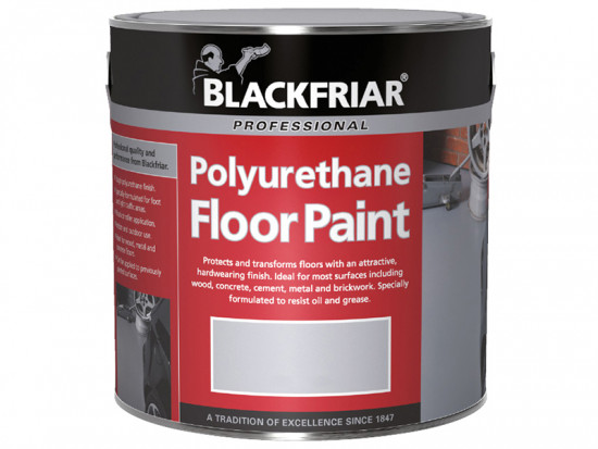 Professional Polyurethane Floor Paint Tile Red 1 Litre