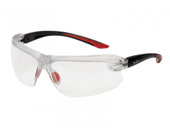IRI-s Safety Glasses Clear Bifocal Reading Area +3.0
