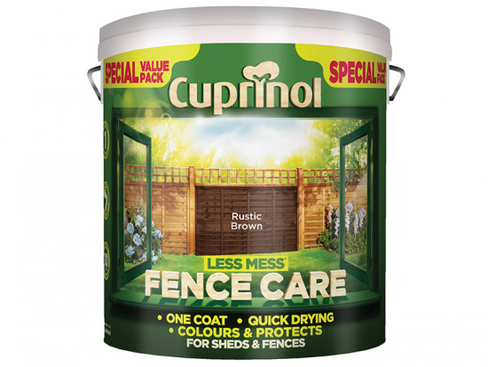Less Mess Fence Care