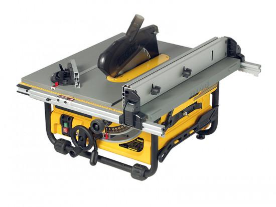 DW745 250mm Portable Site Saw 1700 Watt 110 Volt