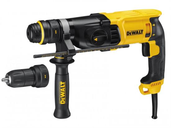D25134KL SDS 3 Mode QCC Hammer Drill 800 Watt 110 Volt