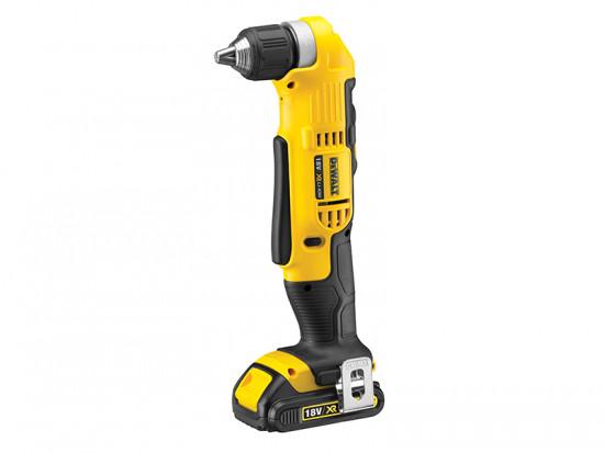 DCD740C1 XR Angle Drill 18 Volt 1 x 1.5Ah