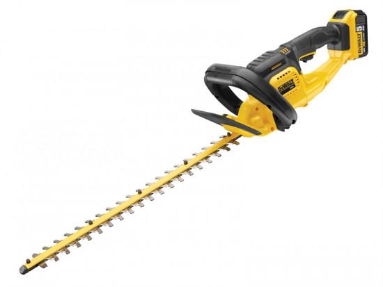 DCM563P1 Cordless Hedge Trimmer 18 Volt 1 x 5.0Ah