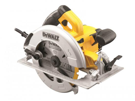 DWE575KL 190mm Precision Circular Saw & Kitbox 1600 Watt 110 Volt
