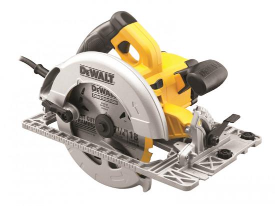 DWE576KL 190mm Precision Circular Saw & Track Base 1600 Watt 110 Volt