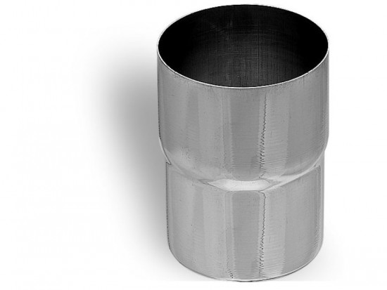 Steel Circular Pipe Downpipe Connection 118mm 100mm Diameter