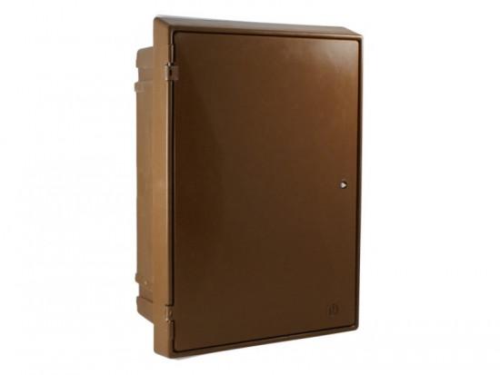 Built-In Electric Meter Box Brown EB0011B