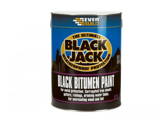 Black Bitumen Paint 1 Litre