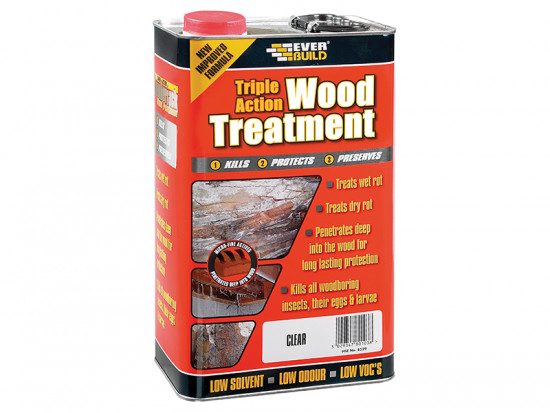 Triple Action Wood Treatment 1 Litre