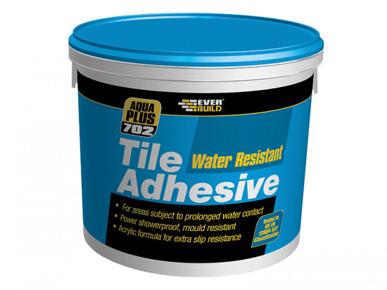 Water Resist Tile Adhesive 10 Litre
