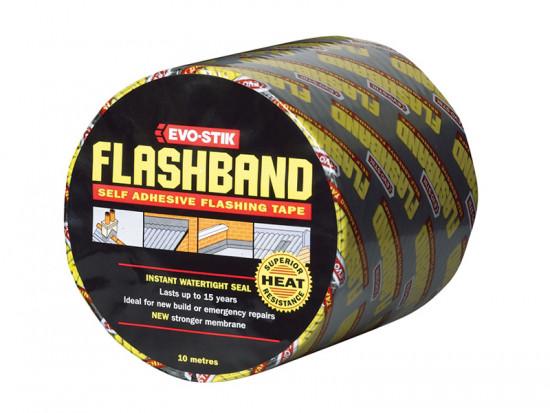 Flashband Roll Grey 100mm x 10m