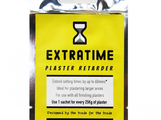 Extratime Plaster Retarder Sachets
