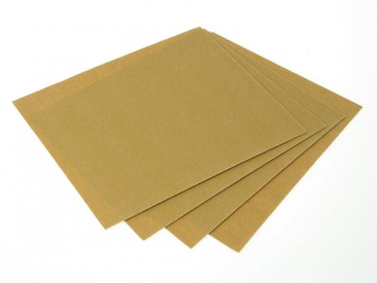 Glasspaper Sanding Sheets 230 x 280mm Grade 1.1/2 120g (25)