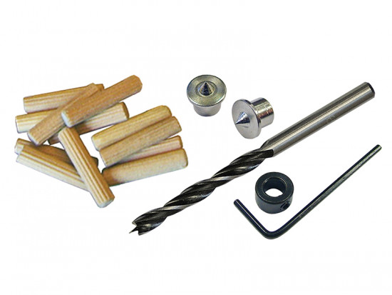 Dowel Kit 10mm Drill & Points