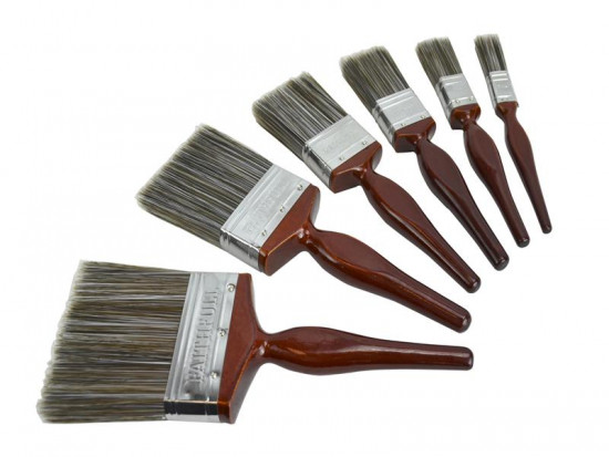 Superflow Synthetic Paint Brushes