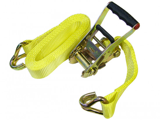 Ratchet Tie-Down 5m x 50mm Trucker Breaking Strain 4500kg