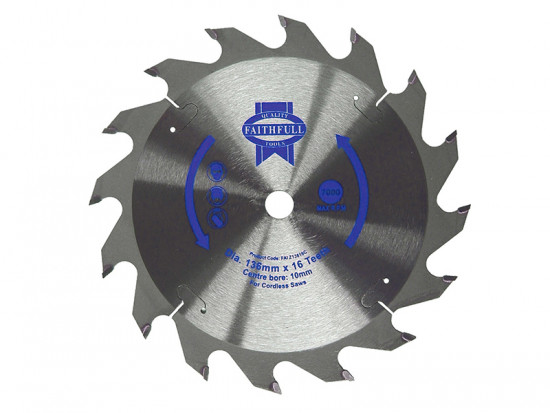 Trim Saw Blade 136 x 10mm x 30T General-Purpose