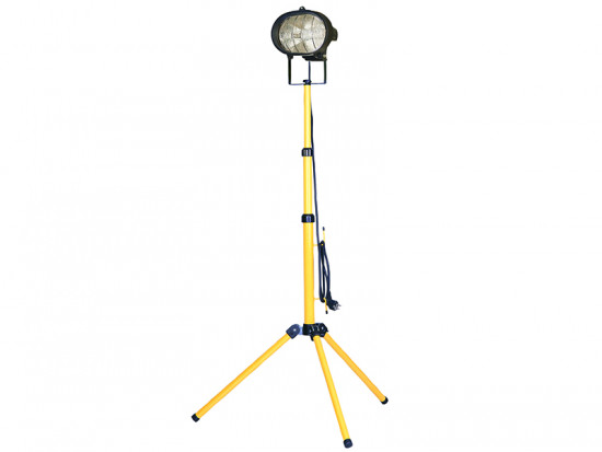 Single Tripod Site Light 500 Watt 110 Volt