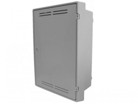 Built-In Gas Meter Box White GB0001