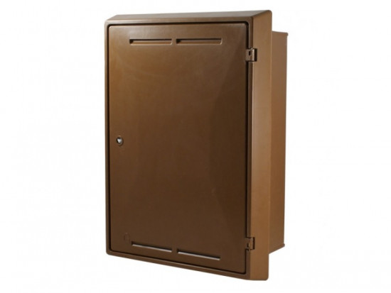 Built-In Gas Meter Box Brown GB00001B