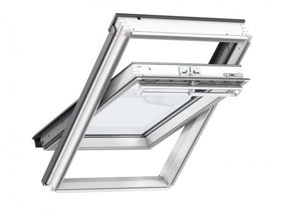 White Centre Pivot Window Laminated GGL 2070 - Various Sizes