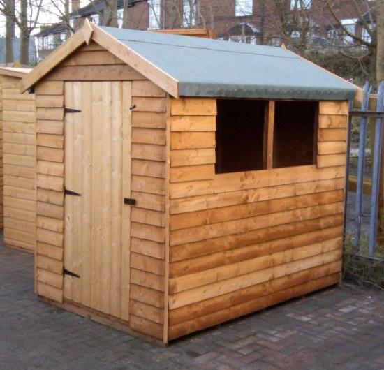 Cottage Overlap Standard Storage Shed