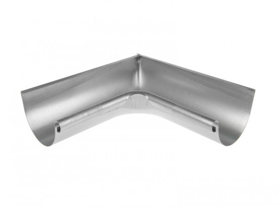 Steel Half Round 90 deg Internal Angle 150mm Diameter
