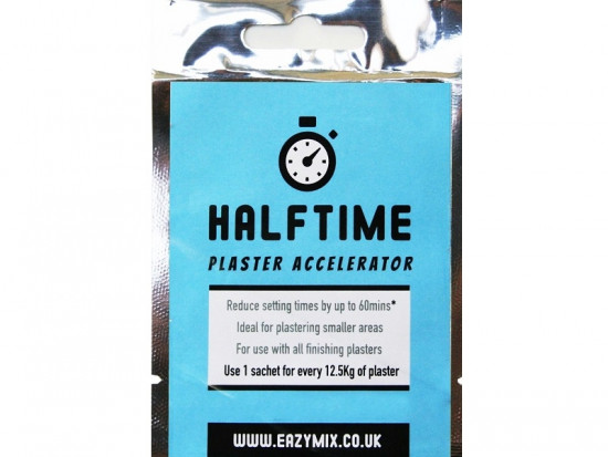 Halftime Plaster Accelerator Sachets