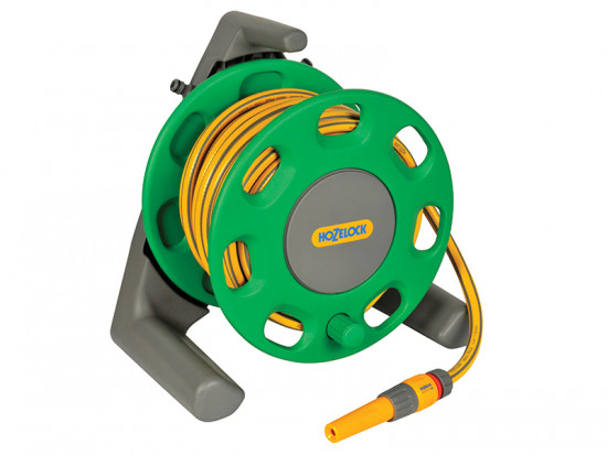 2412 30m Freestanding Compact Hose Reel + 25 Metres of 12.5mm Hose