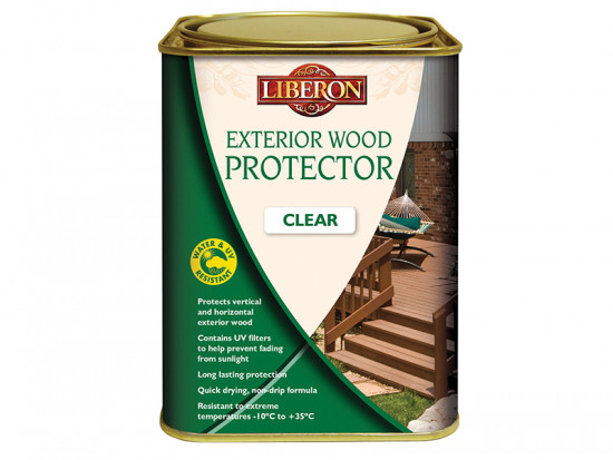 Exterior Wood Protector Clear 1 Litre