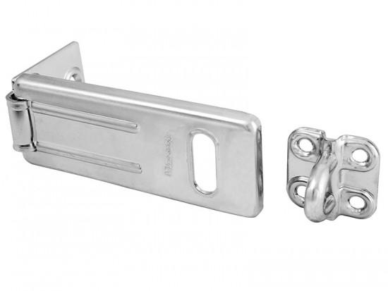 Wrought Steel Hasp 115mm - Black Matt