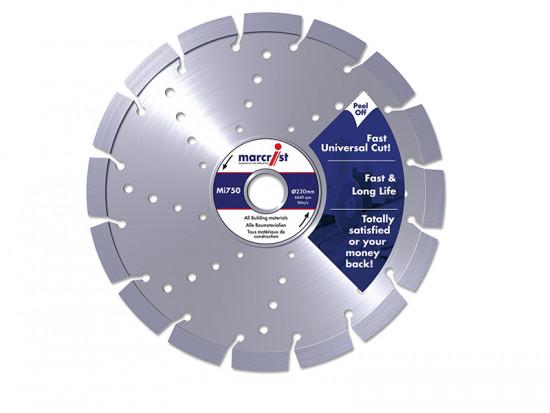 Mi750 Diamond Blades Fast Universal Cut