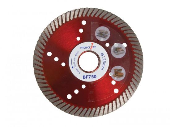 BF750 Diamond Blade Fast Precision Cut 115mm x 22.2mm