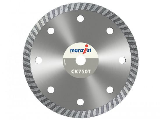 CK750 Turbo Rim Diamond Blade Fast Cut 115mm x 22.2mm