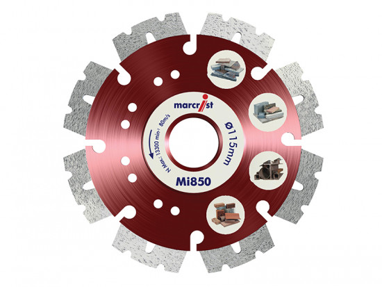Mi850 Fastest Universal Cut Diamond Blade 115mm x 22.2mm