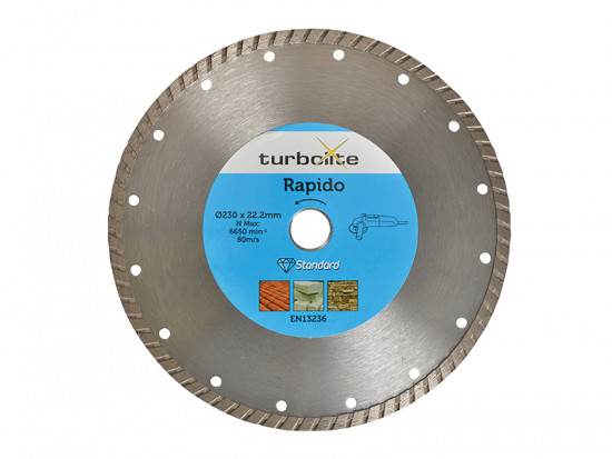 Rapido Turbo Blade 115mm x 22.2mm