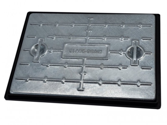 600 x 450mm 25T Galvanised Solid Top Manhole Cover PC6EG