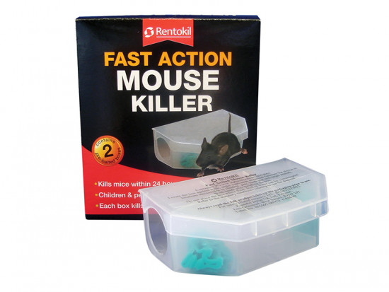 Fast Action Mouse Killer (Pack of 2)