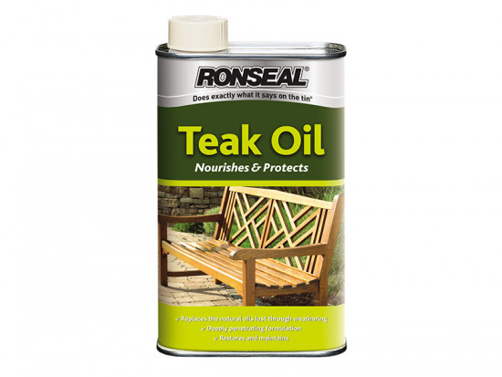 Garden Furniture Teak Oil Can 1 Litre