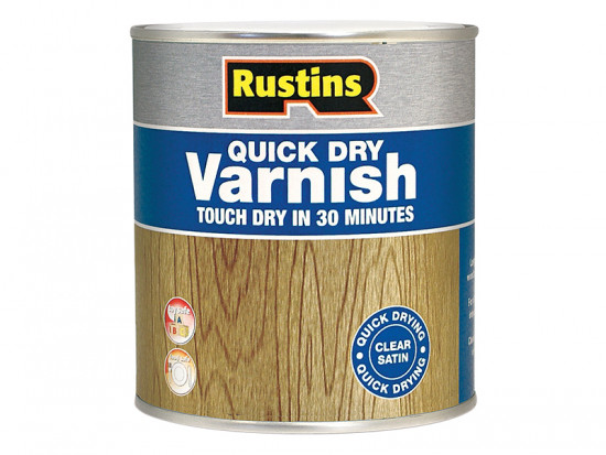 Quick Dry Varnish Gloss Clear 1 Litre